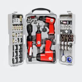71-delige luchtcompressor accessoire set pneumatische gereedschapset