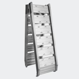 Oprijplaat opvouwbaar draagbaar aluminium 182cm 200kg