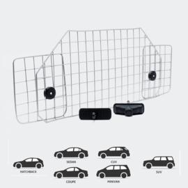 Hondenrek universeel voor auto vrij instelbaar automodel E in metaal