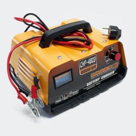 Auto batterijlader acculader 12V 24V accu starthulp jumpstart