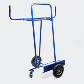 Platenwagen platenkar magazijnkar tot 340 kg met 4 wielen
