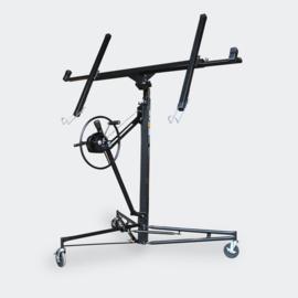 Gipsplaatlift PRO XXL gyproclift heftafel tot 68kg zwart