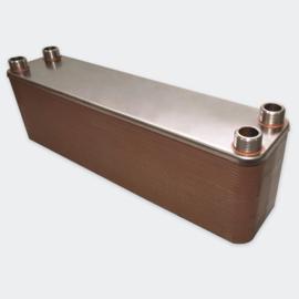 Warmtewisselaar platenwarmtewisselaar 60 platen 660 kW