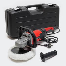 Polijstmachine poliermachine PRO 1500W met 6 snelheden 3000/tpm