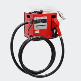Dieselpomp zelfaanzuigend Bio-stookoliepomp 230V/550W 60 l/min met teller