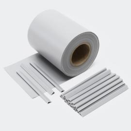 Balkondoek hekdoek privacydoek 35 meter 450 g/m² grijs