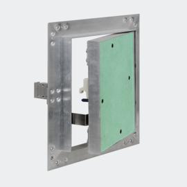 Inspectieluik toezichtsluik 20x20cm aluminium frame Artikelnummer: 60692