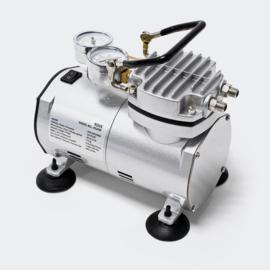 Airbrush-compressor AS20W met vacuümpomp
