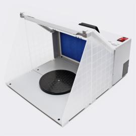 Airbrush spuitcabine filterafzuiging 4m³/min 12V verlichting