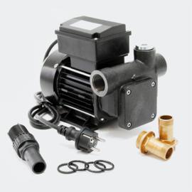 Zelfaanzuigende diesel oliepomp transferpomp 230V/550W 80 l/min
