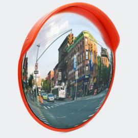 Verkeersspiegel veiligheidsspiegel uitrit convex bolle kijkhoek 45cm