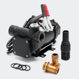 Zelfaanzuigende diesel draagbare transferpomp 12V/550W 80 l/min