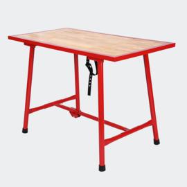 Werkbank 120x62.5cm opvouwbare tafel