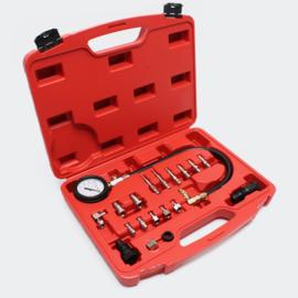 Compressie tester dieselmotoren 0-70bar set