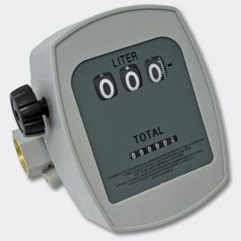 """Brandstofteller doseermeter dieselbrandstof 3 bar 10-60 l/min aansluiting 1"""""""