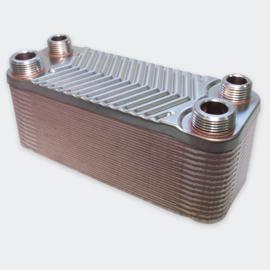Warmtewisselaar platenwarmtewisselaar 30 platen 66 kW