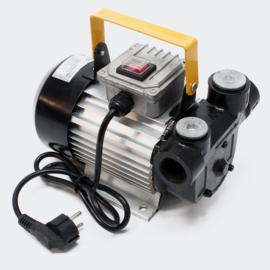 Dieselpomp zelfaanzuigend Bio-stookoliepomp 230V/550W 60 l/min digitaal