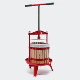 Spindelpers fruitpers wijnpers druivenpers hout 12 liter