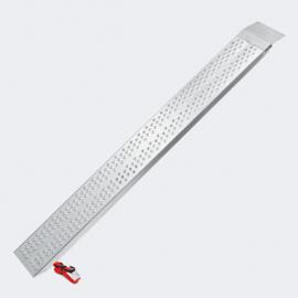 Laadbrug oprijplaat draagbaar aluminium 160cm tot 270kg