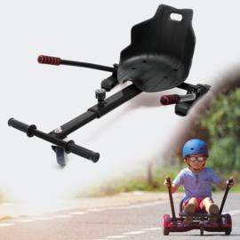 Hoverkart zitje voor Hoverboard zwart