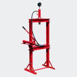 Hydraulische pers werkbank druk tot 12 ton met manometer