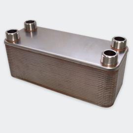 Warmtewisselaar platenwarmtewisselaar 40 platen 230 kW