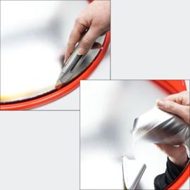 Verkeersspiegel veiligheidsspiegel uitrit convex bolle kijkhoek 80cm
