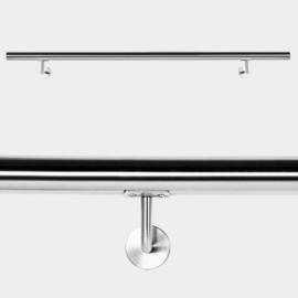 Trapleuning handrail wandbevestiging RVS 130cm