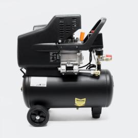Luchtcompressor perslucht met 24L tankvolume 8 bar 200l/m