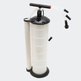 Oliepomp vloeistof afzuigpomp 7 liter handpomp