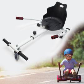 Hoverkart zitje voor Hoverboard wit
