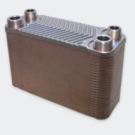 Warmtewisselaar platenwarmtewisselaar 50 platen 90 kW
