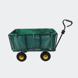 XXL tuinkar transportwagen 550 kg met afneembare hoes