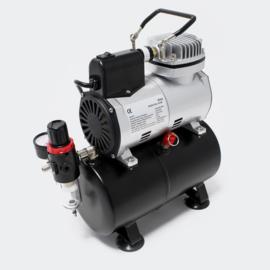 Airbrush Compressor AF186 met start-stop automatische manometer