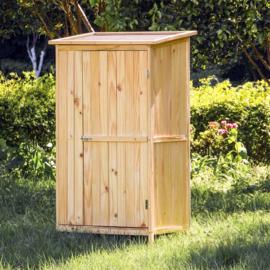 Tuinopberger natuurlijke kleur 1 deur gereedschapskast