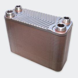 Warmtewisselaar platenwarmtewisselaar 60 platen 130 kW
