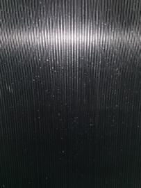 Fijne Ribloper 3mm 120cm zwart per lopende meter
