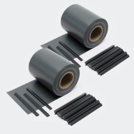 Balkondoek hekdoek privacydoek 70 meter 650 g/m² zwart