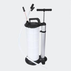 Oliepomp vloeistof afzuigpomp 9 liter handpomp