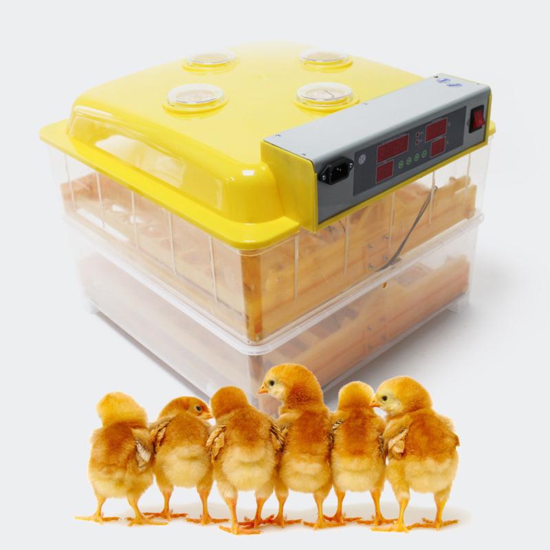 Broedmachine kweekmachine 96 eieren keersysteem en kijkvenster