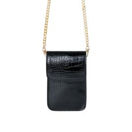 Croco Bag Black
