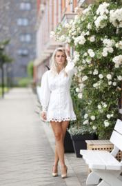 White Queen Dress