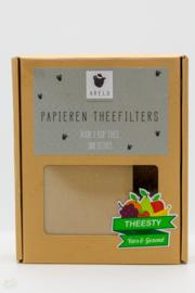 Papieren theefilters