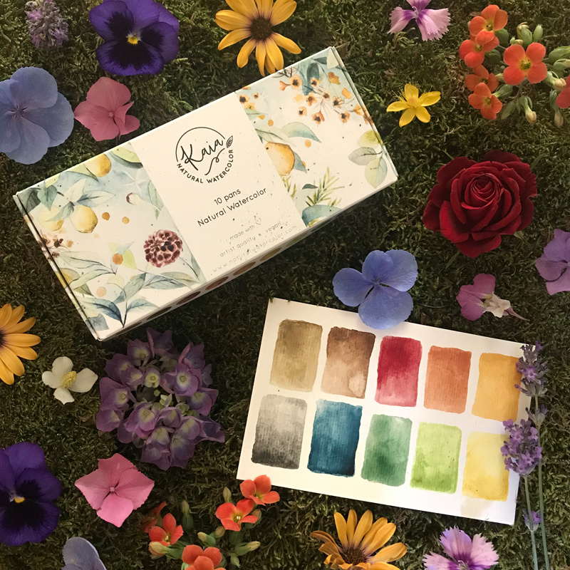 Kaia Natural Watercolor complete collectie