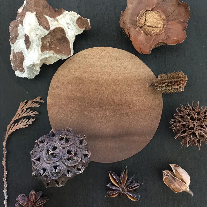 ChocoladebruinKaia natuurlijke vegan aquarelverf