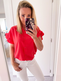 Donna top coral