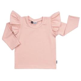 Ruffle top Kleine Baasjes roze
