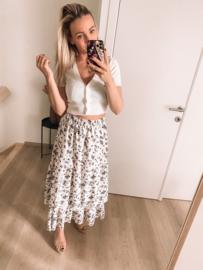 Emma skirt white