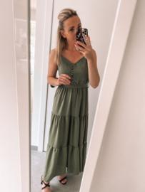 Adrienne dress khaki