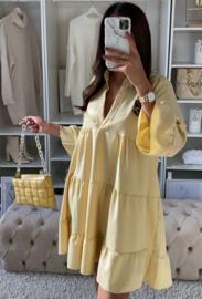 Gemma dress yellow